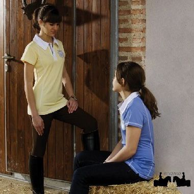 Polo de mujer Lexhis poliester transpirable