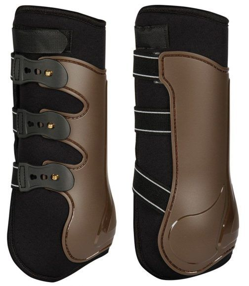 Protection boots marron